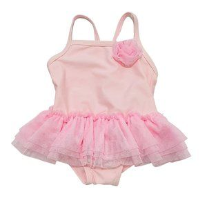 Light Pink Tutu One Piece Swimsuit